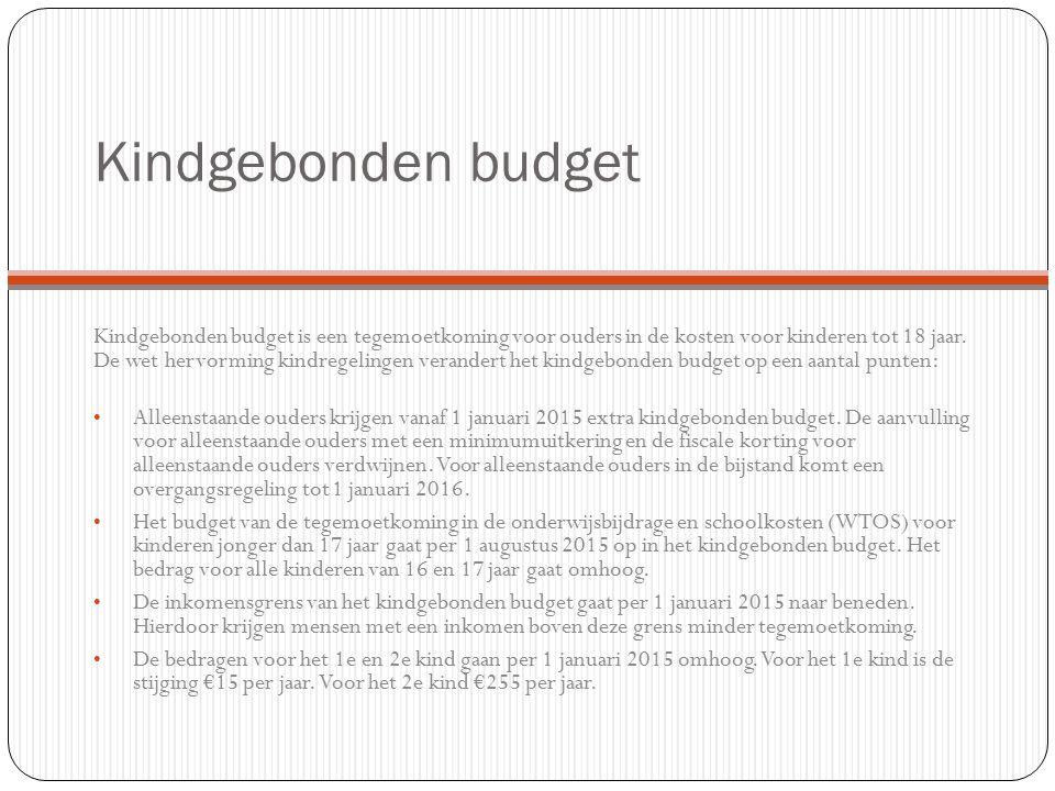 Kindgebonden budget