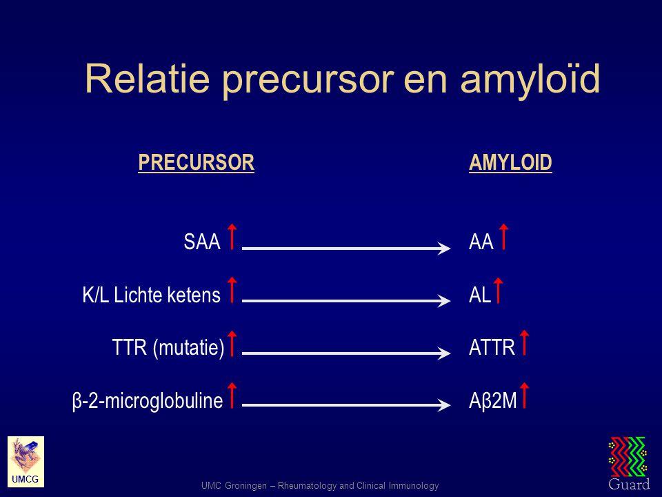 Relatie precursor en amyloïd