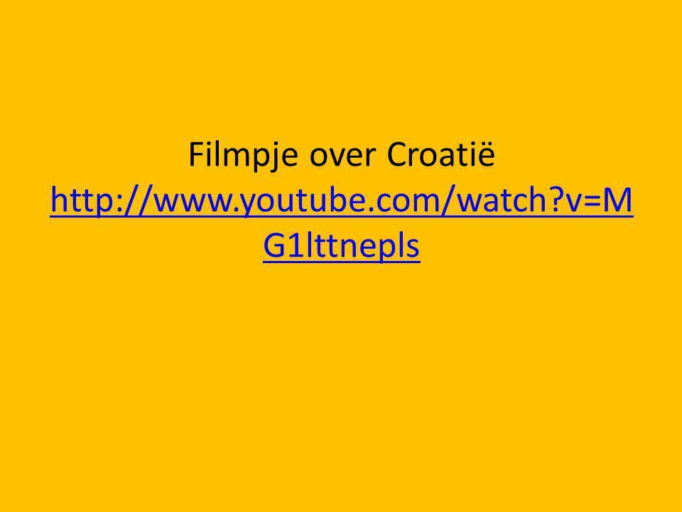 Filmpje over Croatië http://www.youtube.com/watch v=MG1lttnepls