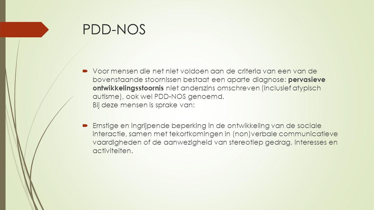 PDD-NOS