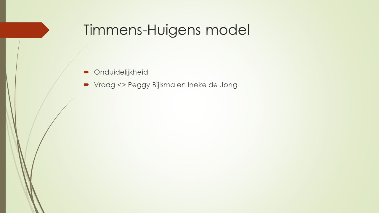 Timmens-Huigens model