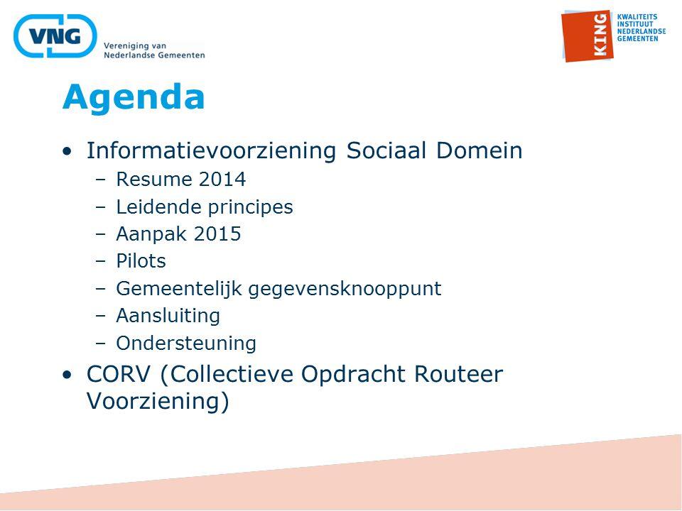 Agenda Informatievoorziening Sociaal Domein
