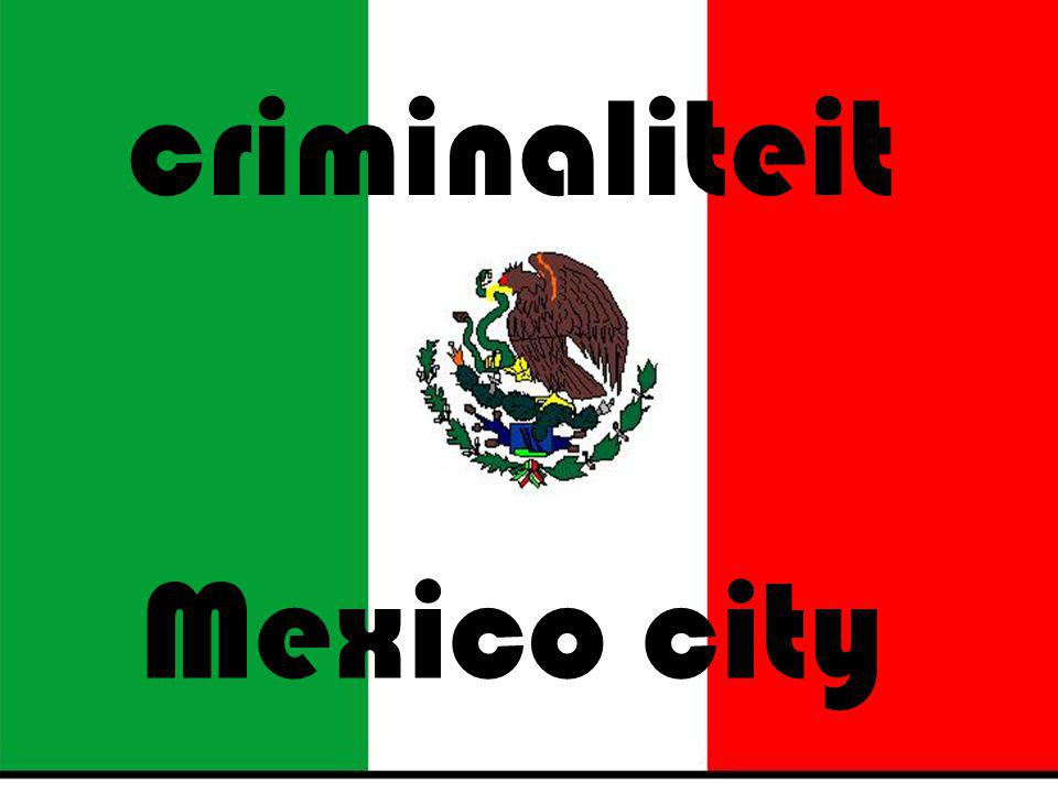 criminaliteit Mexico city