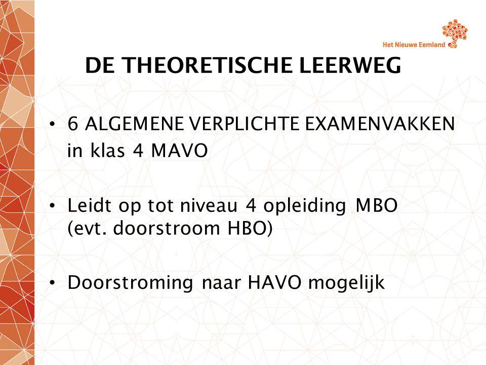 DE THEORETISCHE LEERWEG