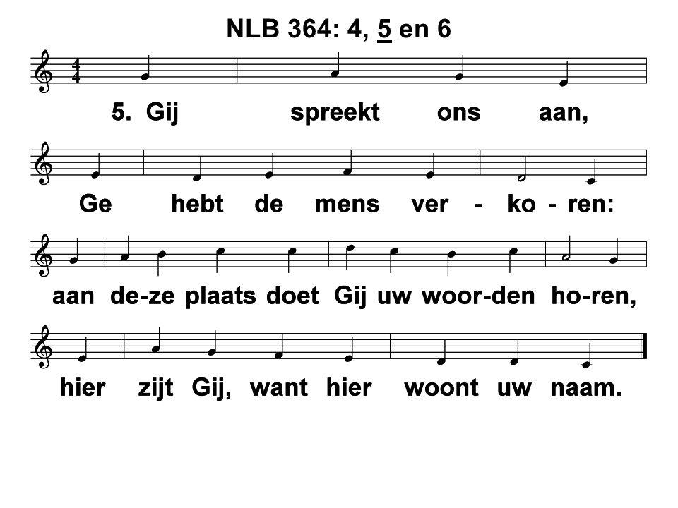 NLB 364: 4, 5 en 6