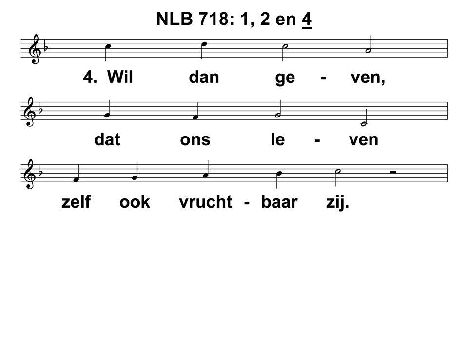 NLB 718: 1, 2 en 4