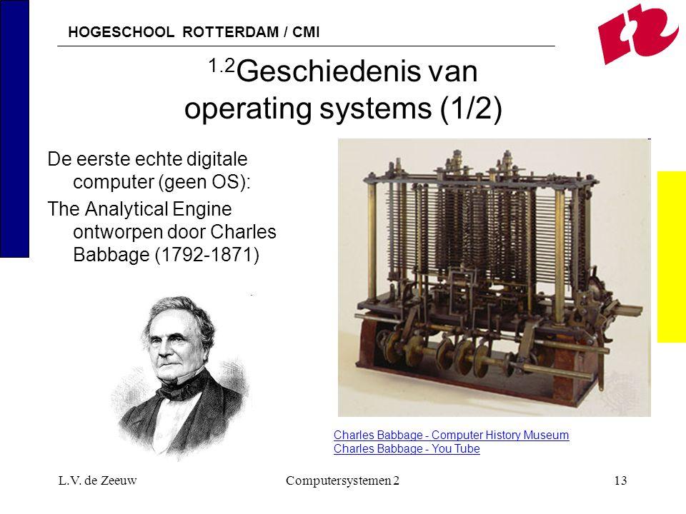 1.2Geschiedenis van operating systems (1/2)
