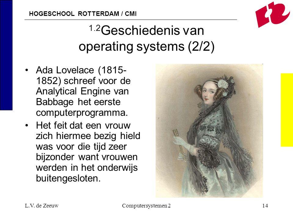 1.2Geschiedenis van operating systems (2/2)