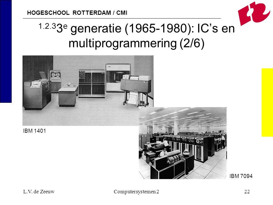 1.2.33e generatie (1965-1980): IC's en multiprogrammering (2/6)