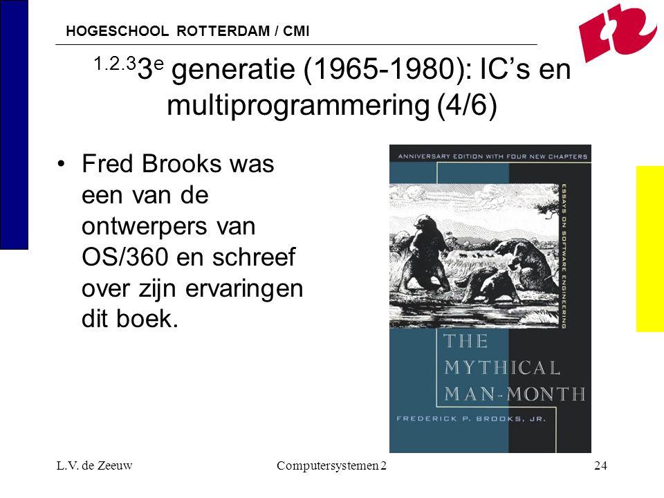 1.2.33e generatie (1965-1980): IC's en multiprogrammering (4/6)