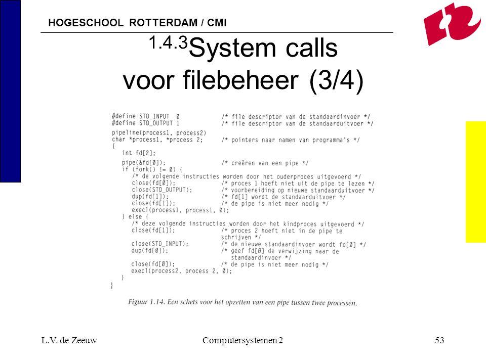 1.4.3System calls voor filebeheer (3/4)