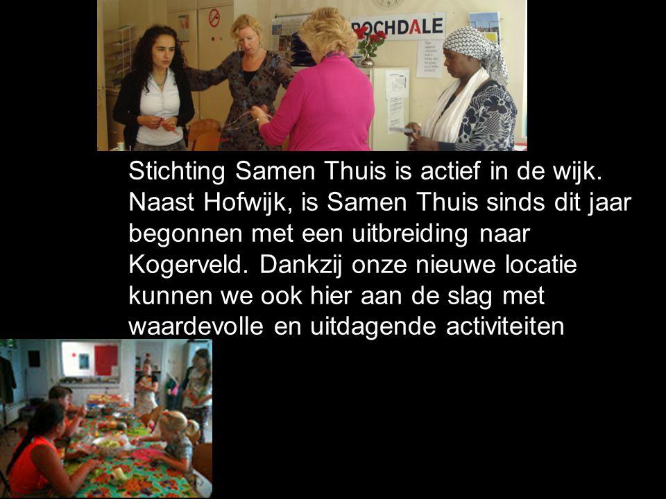 Stichting Samen Thuis is actief in de wijk