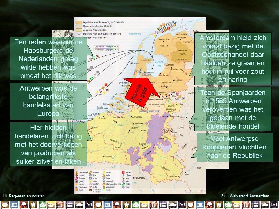 Antwerpen was de belangrijkste handelsstad van Europa
