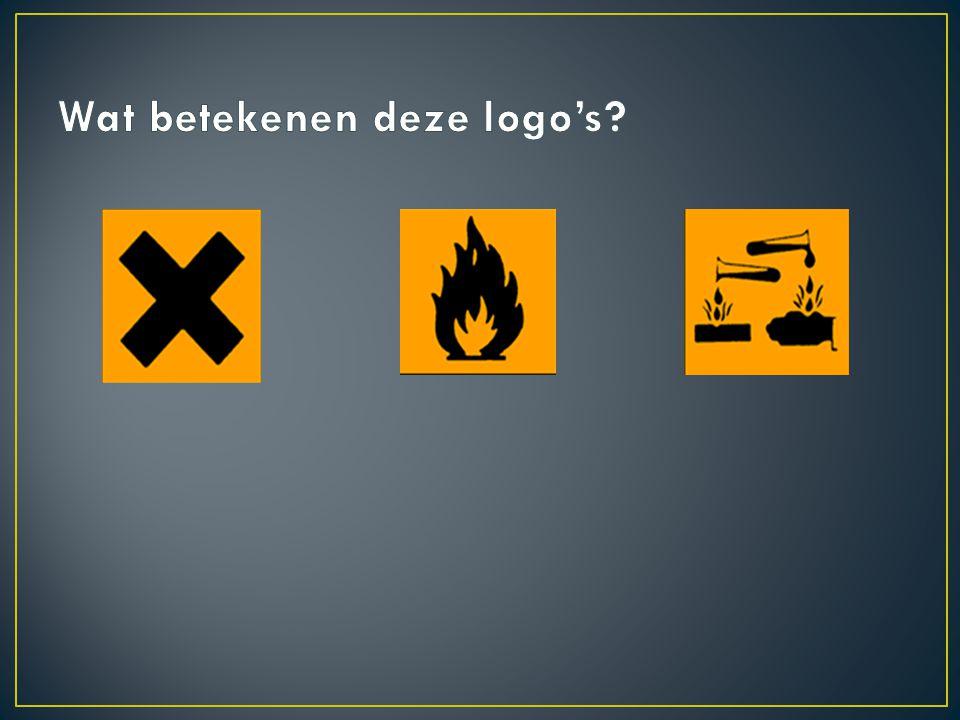 Wat betekenen deze logo's
