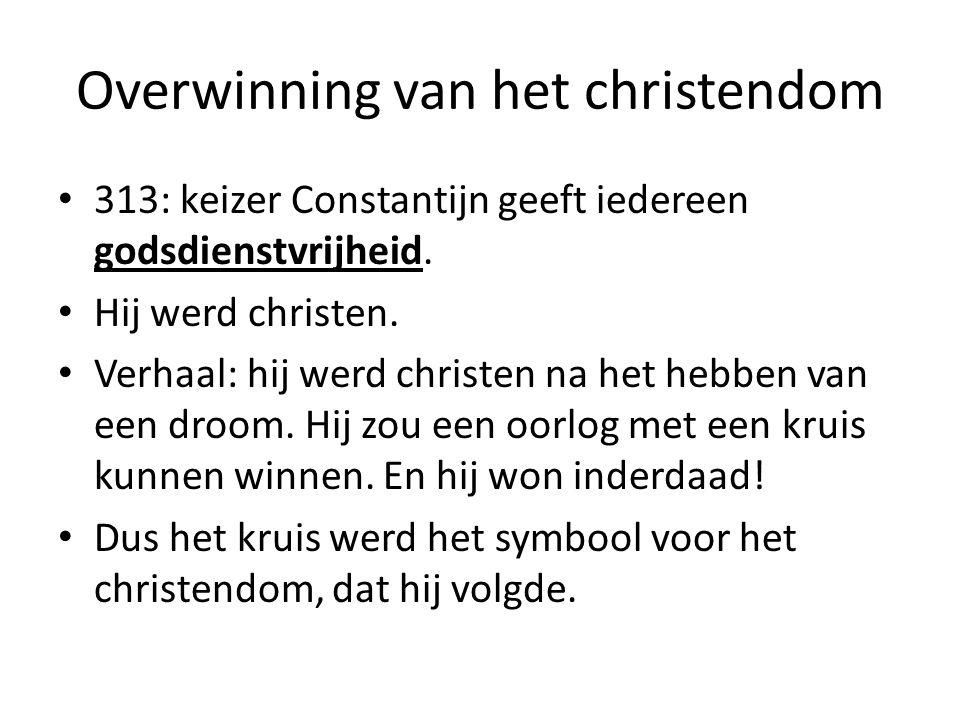 Overwinning van het christendom