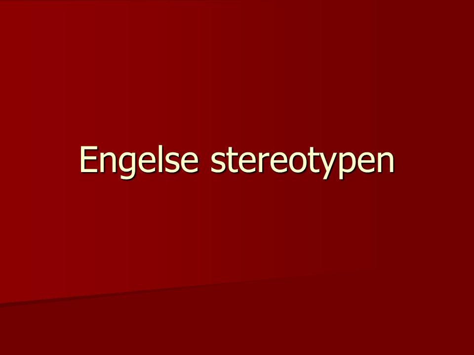 Engelse stereotypen