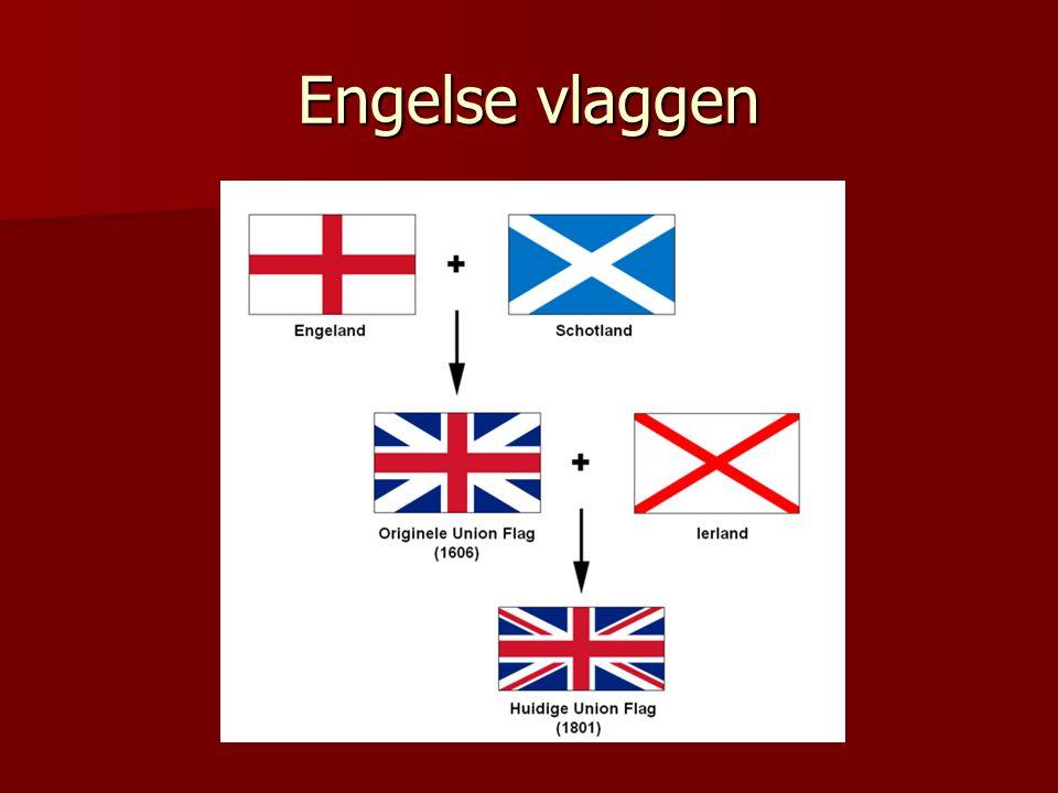 Engelse vlaggen