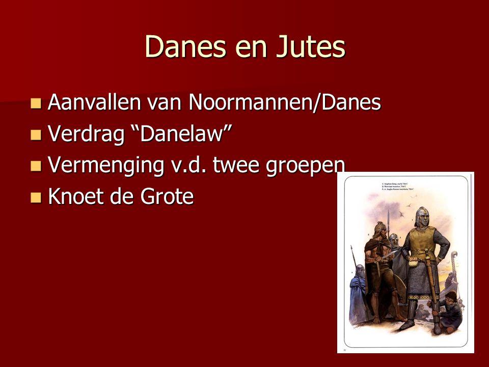 Danes en Jutes Aanvallen van Noormannen/Danes Verdrag Danelaw