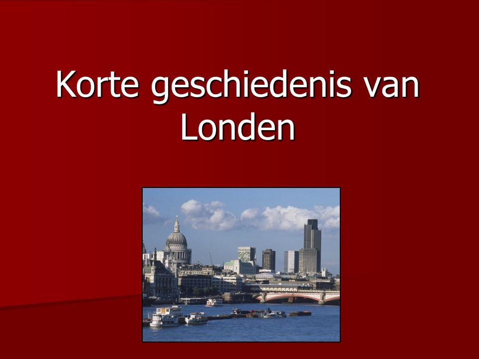 Korte geschiedenis van Londen