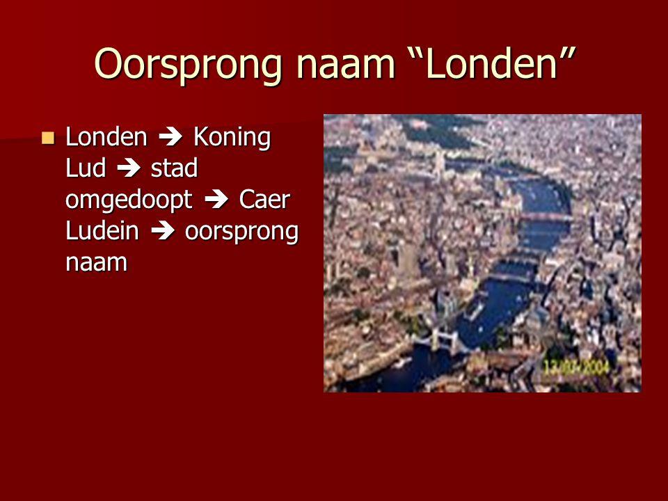 Oorsprong naam Londen