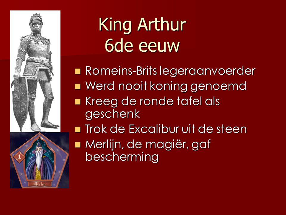 King Arthur 6de eeuw Romeins-Brits legeraanvoerder