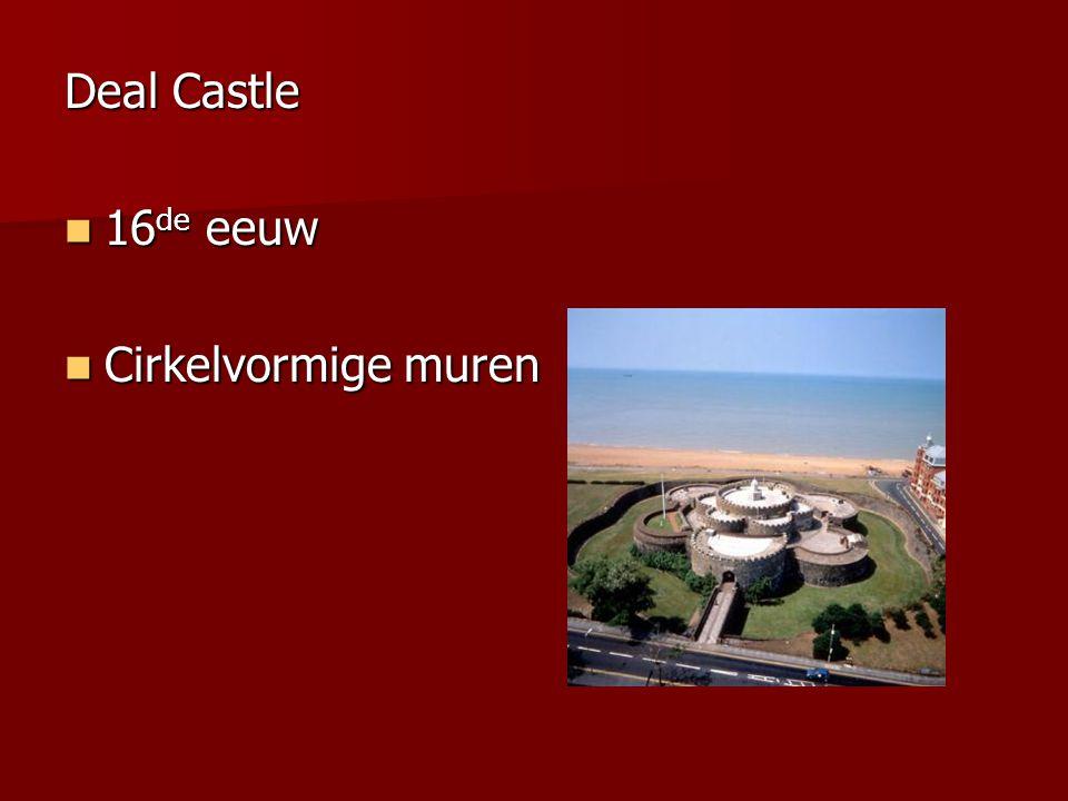 Deal Castle 16de eeuw Cirkelvormige muren