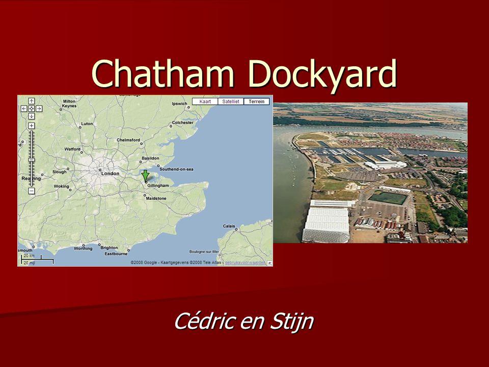 Chatham Dockyard Cédric en Stijn
