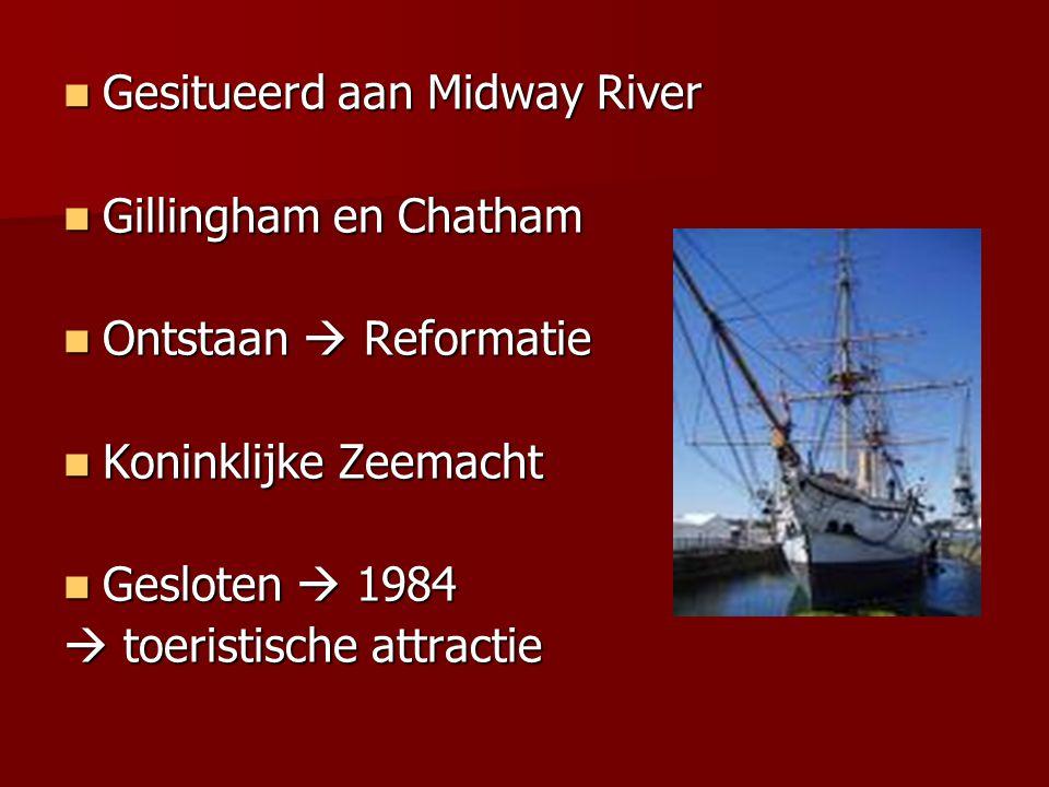 Gesitueerd aan Midway River