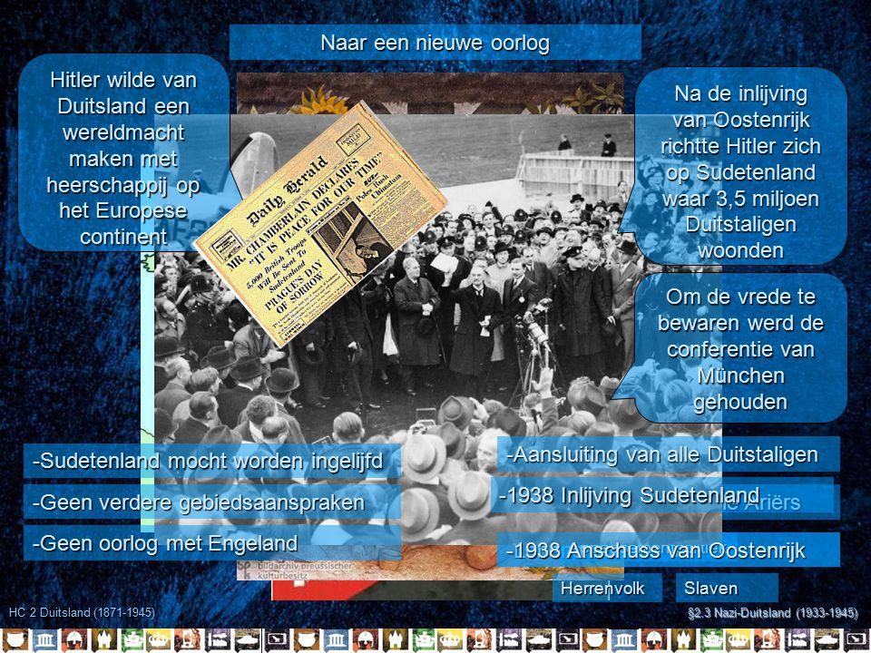 Om de vrede te bewaren werd de conferentie van München gehouden