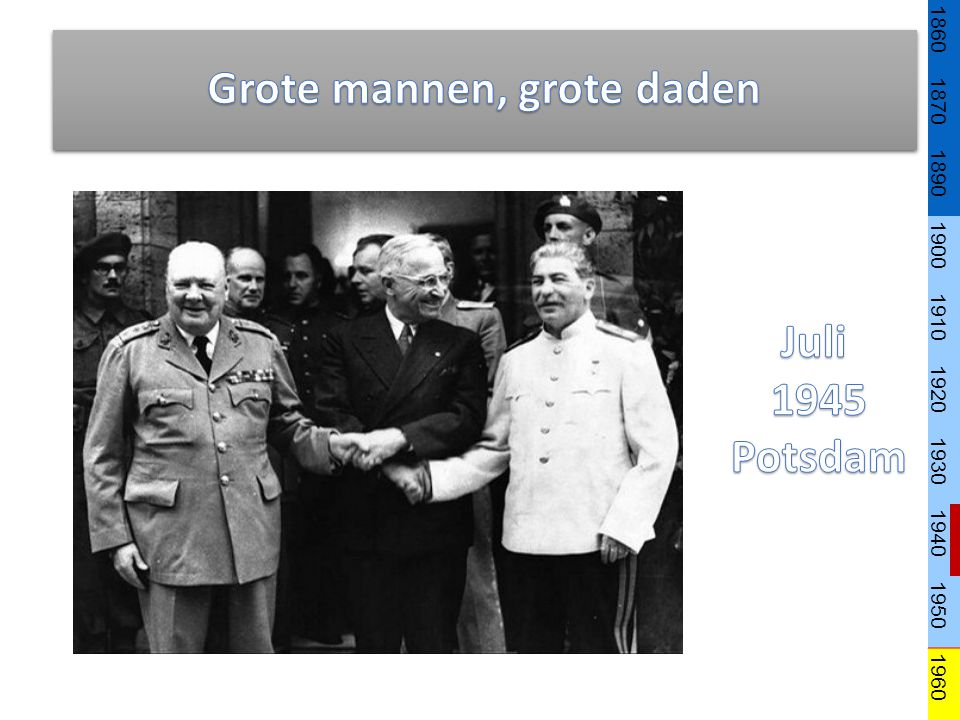 Grote mannen, grote daden