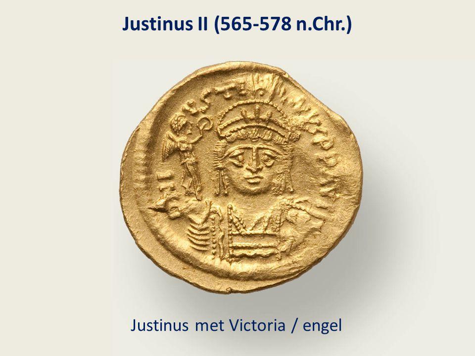 Justinus met Victoria / engel