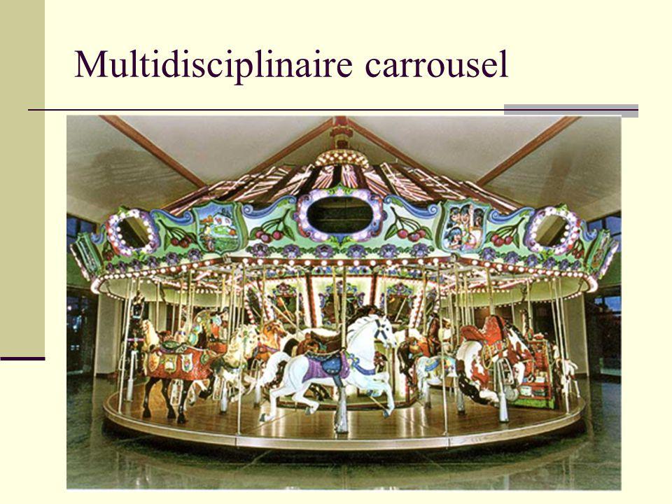 Multidisciplinaire carrousel