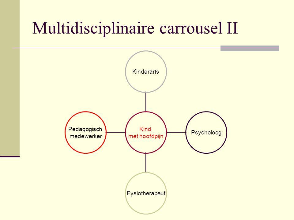 Multidisciplinaire carrousel II