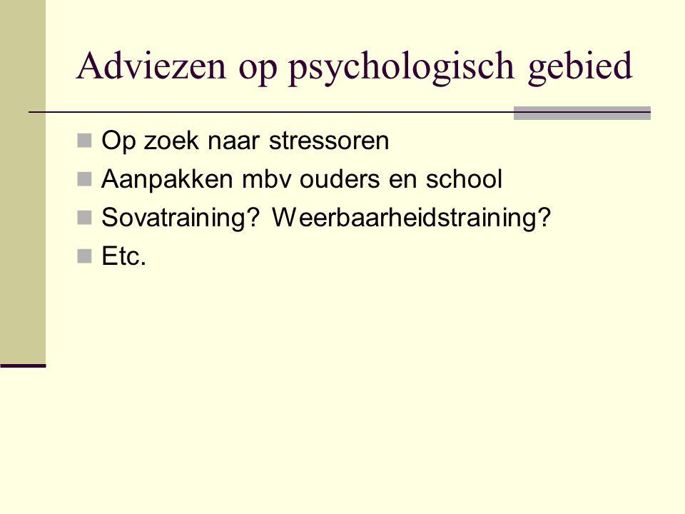 Adviezen op psychologisch gebied