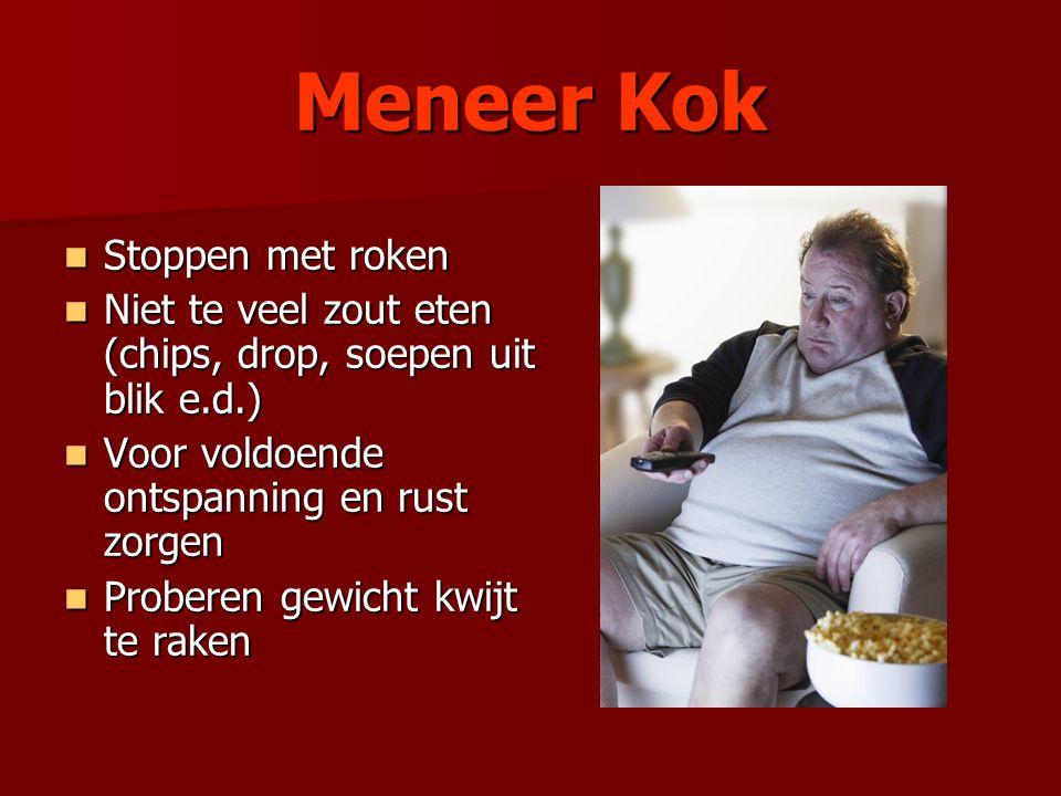 Meneer Kok Stoppen met roken