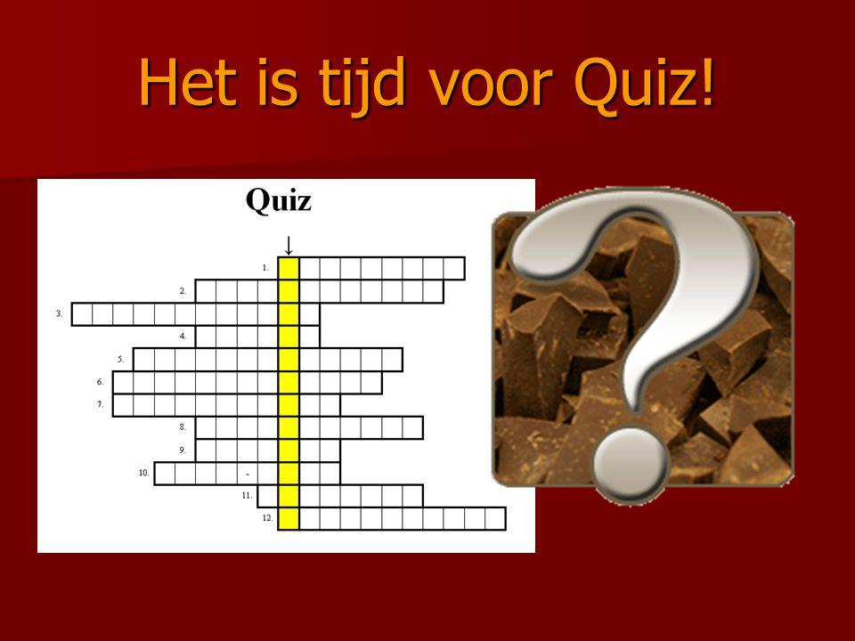 Het is tijd voor Quiz!