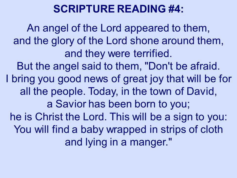 SCRIPTURE READING #4:
