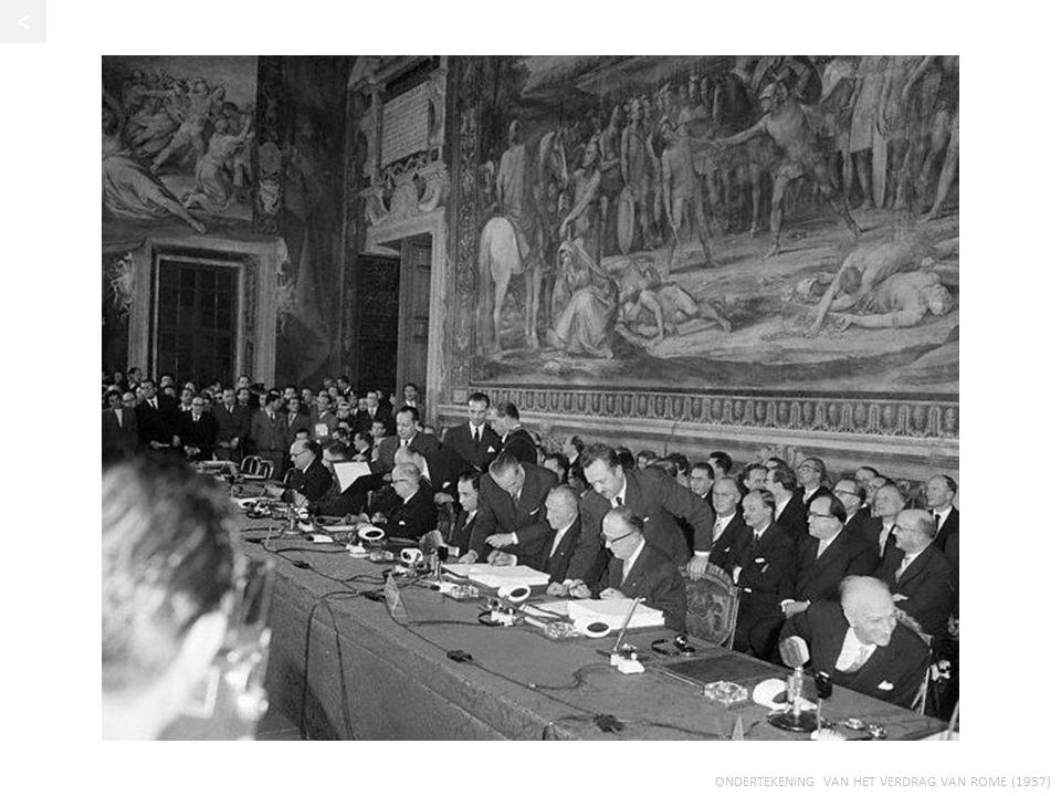< Ondertekening van het Verdrag van Rome (1957)