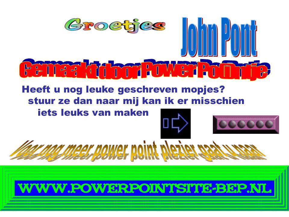 Gemaakt door Power Po(i)ntje