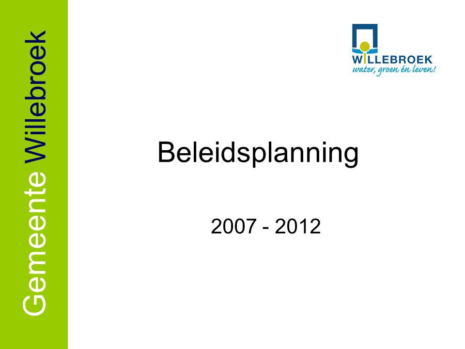 Beleidsplanning Gemeente Willebroek 2007 - 2012