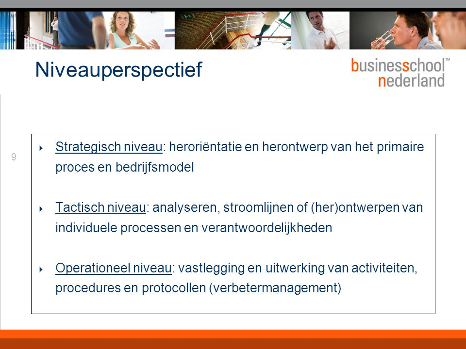 Cyclusperspectief Integraal managen wil zeggen de managementcyclus afmaken: Plan, do, check, act. Doel, plan, opdracht, opvolging.