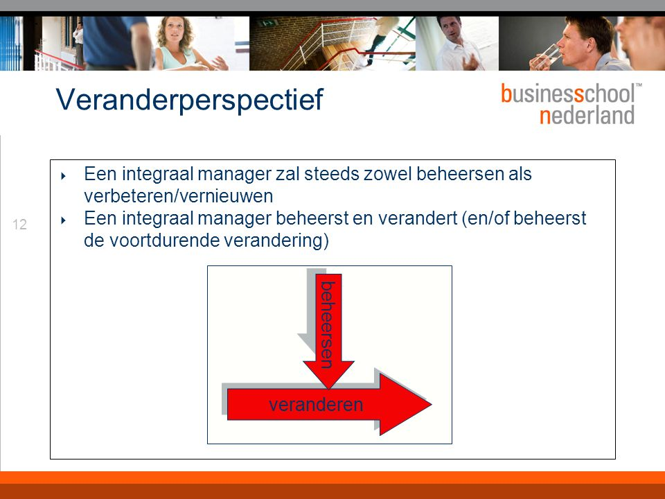 Werkgebieden Operations Management