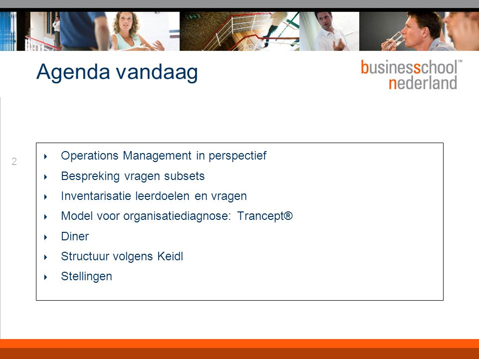 Operations Management in perspectief