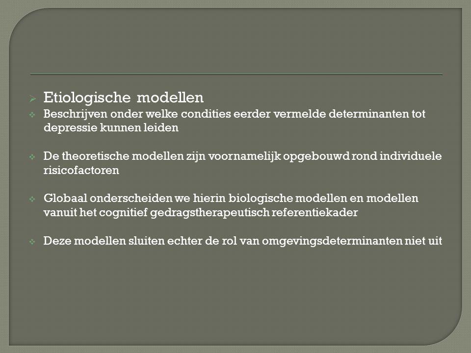 Etiologische modellen