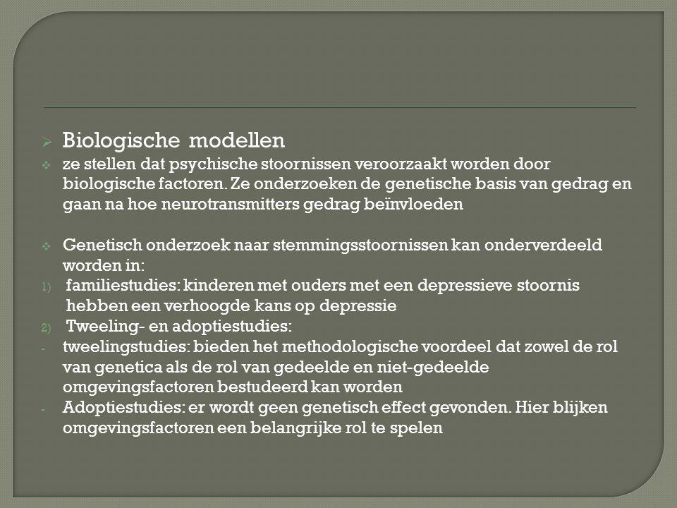 Biologische modellen