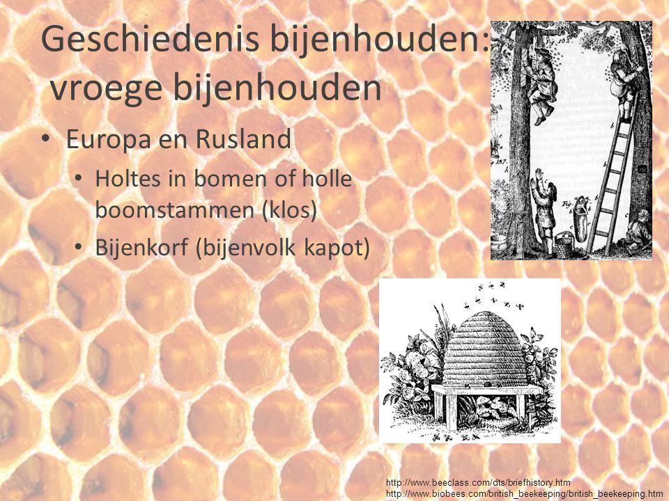 Geschiedenis bijenhouden: vroege bijenhouden