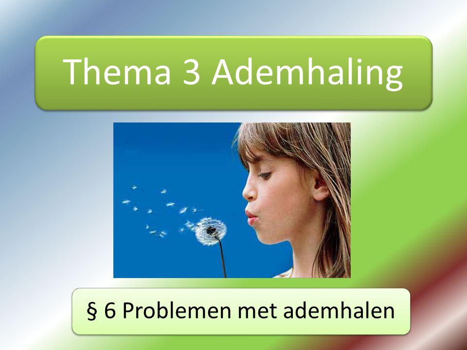 § 6 Problemen met ademhalen