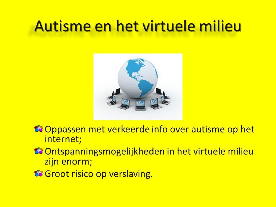 Autisme en het virtuele milieu