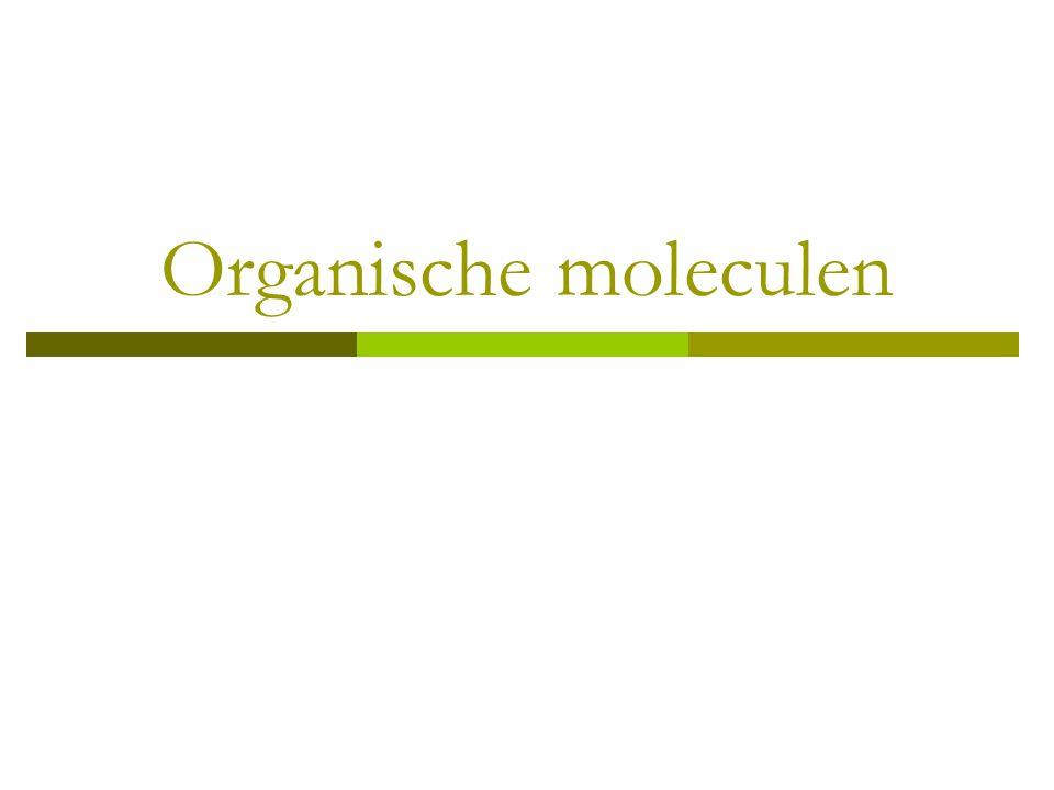 Organische moleculen