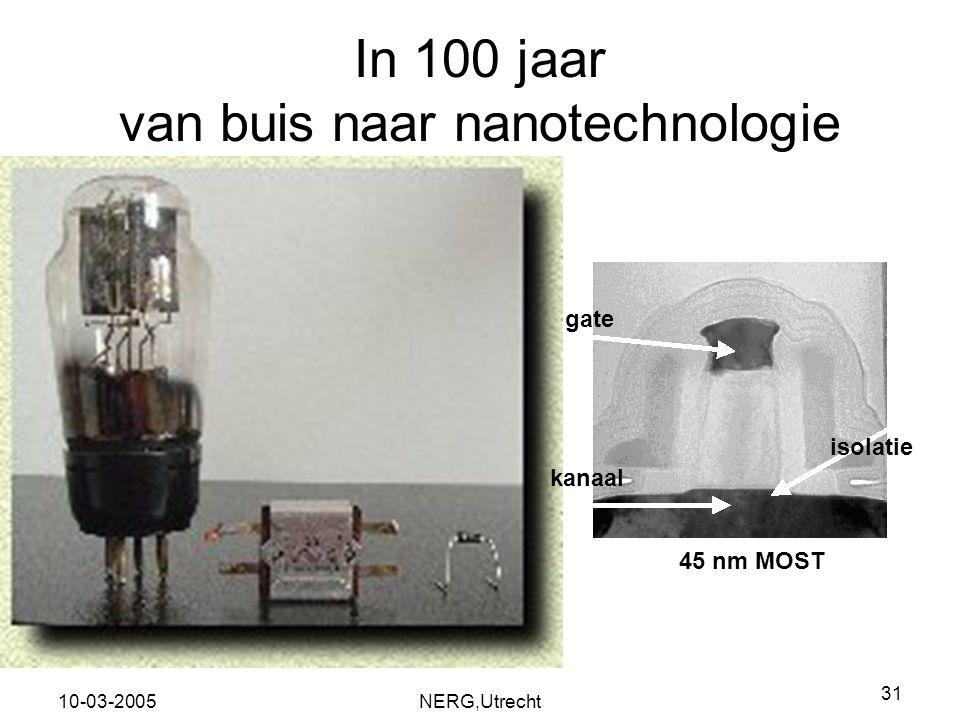 In 100 jaar van buis naar nanotechnologie